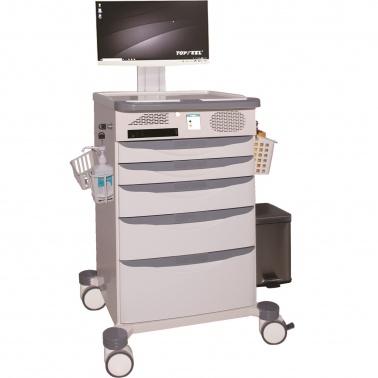 Xe đẩy điều dưỡng bệnh án điện tử (XKD-001)